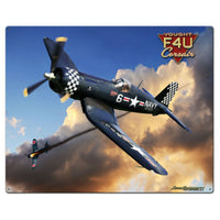 Vintage Signs - Corsair F4U 24in x 30in | LG889