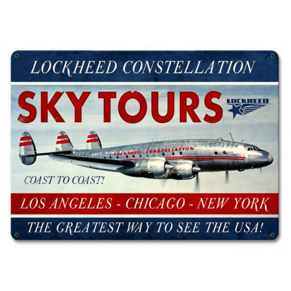 Vintage Signs - Constellation Sky 18in x 12in | LM003