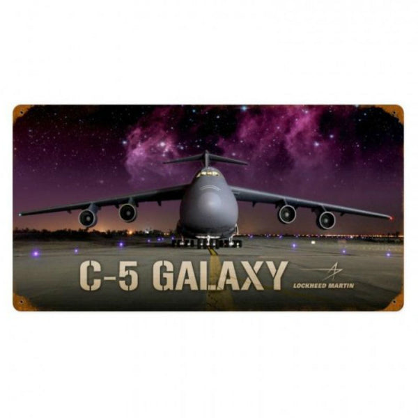 Vintage Signs - C5 Galaxy 24in x 12in | LM014