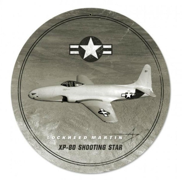 Vintage Signs - Shooting Star 14in x 14in | LM024