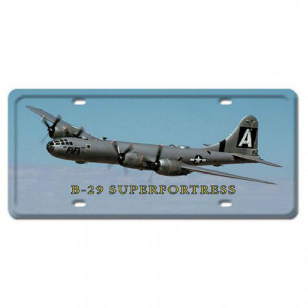Vintage Signs - B-29 Superfortress 6in x 12in | LP037