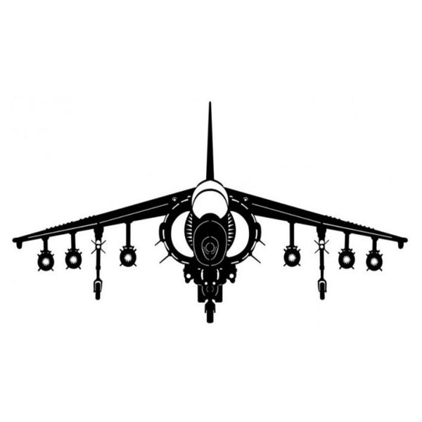 Vintage Signs - The Harrier Plane 40in x 20in | PS394