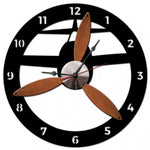 Vintage Signs - 3-D Propeller Clock 18in x 18in | PS490