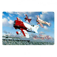 Vintage Signs - The Racing Age 18in x 12in | STK015