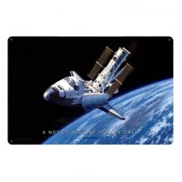 Vintage Signs - Space Shuttle 12in x 18in | STK098