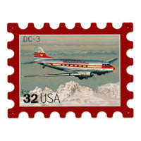 Vintage Signs - Western Dc3 16in x 13in | USPS022