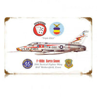Vintage Signs - Super Sabre 18in x 12in | V378