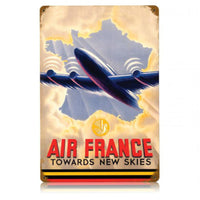 Vintage Signs - Air France 12in x 18in | V434