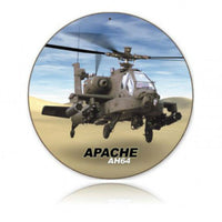 Vintage Signs - Apache 14in x 14in | V436
