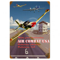 Vintage Signs - Air Combat 12in x 18in | VG005