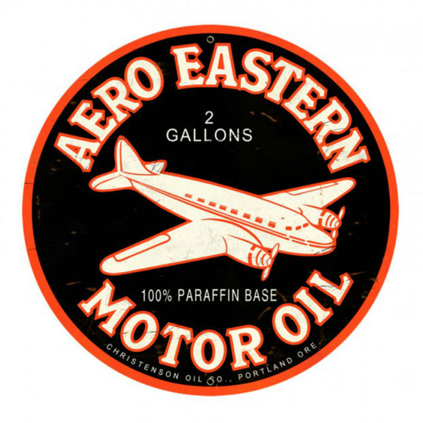 Vintage Signs - Aero Eastern 28in x 28in | VXL041