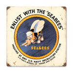 Vintage Signs - Seabees Sign | HA017