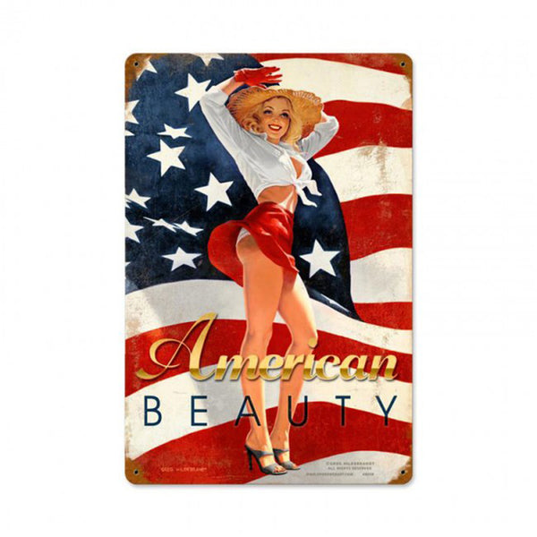 Vintage Signs - American Beauty Sign | HB009