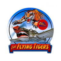 Vintage Signs - Flying Tiger Banner Sign | HM010