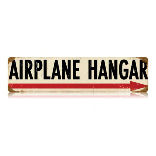 Vintage Signs - Airplane Hangar 5 x 20 Sign | V483