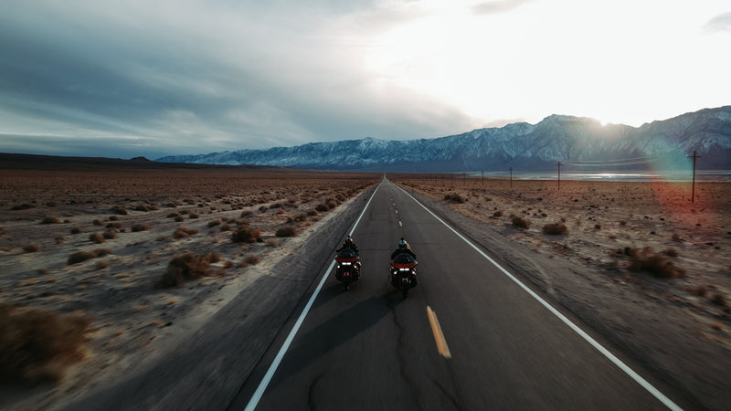 Death Valley Ride - Panamint Springs, Owens Valley, Olancha, and Home!