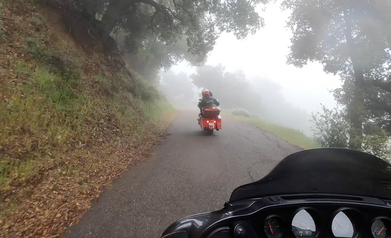The Ride up to Figueroa Mountain