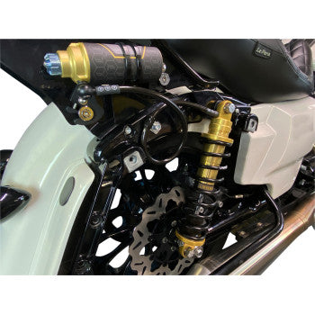 REVO ARC Remote Reservoir Shocks - Gold - '14-'20 FL