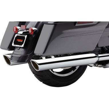 "COBRA- 4"" 909 SLIP-ON MUFFLERS (95-16 MODELS)"