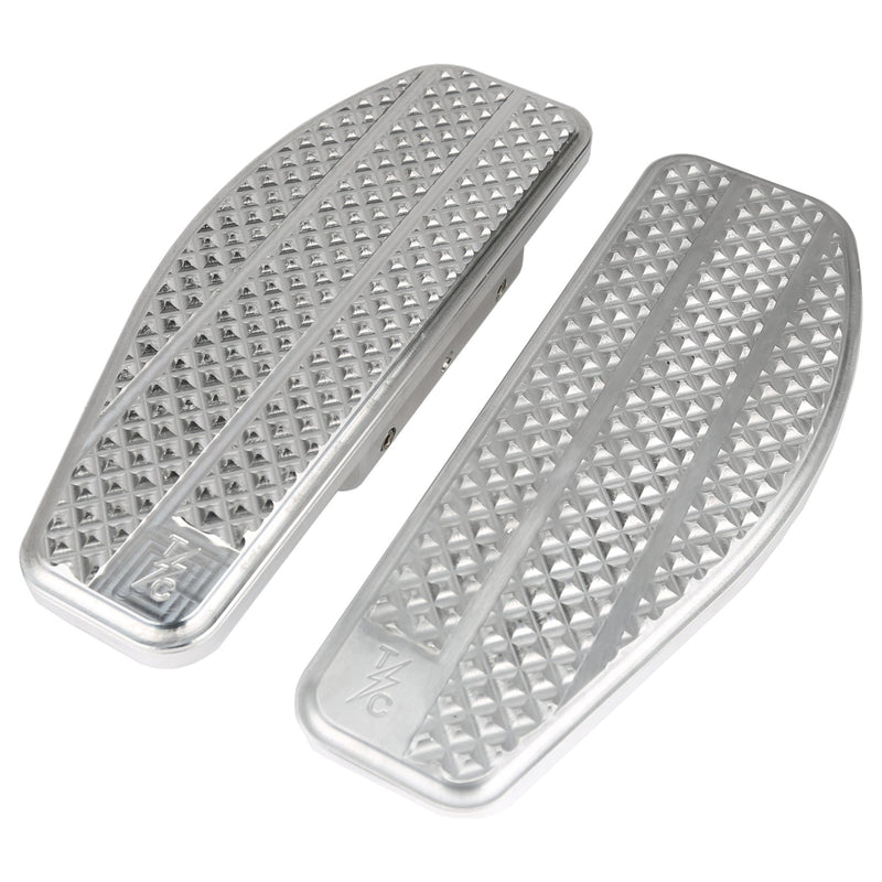Thrashin Supply Bagger Passenger Floorboards - Silver