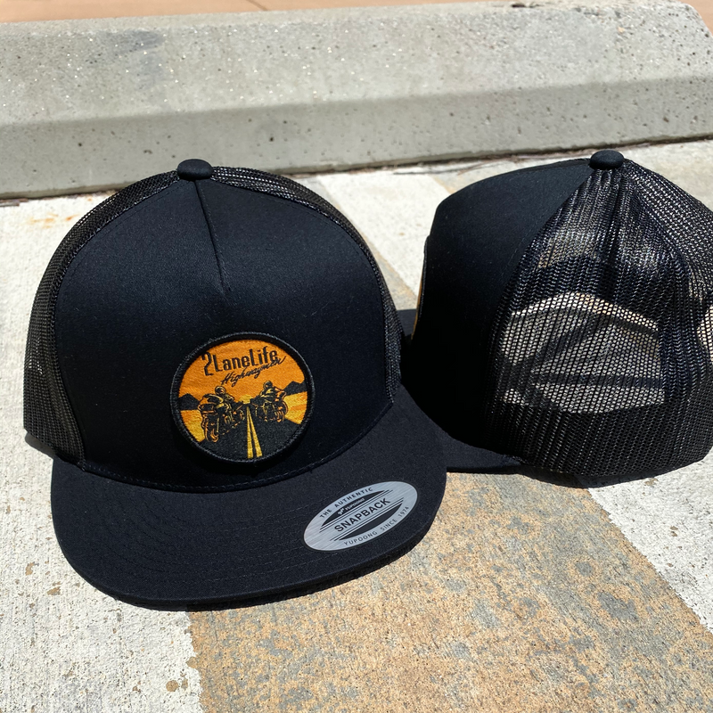 Highwaymen V2 Mesh Snapback Logo Patch Hat