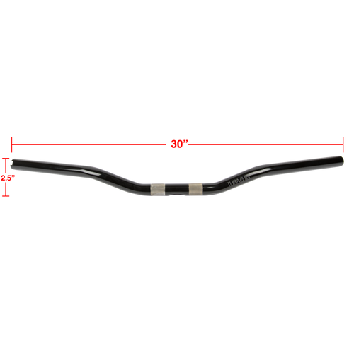 Thrashin Supply Low Bend Bars - Black
