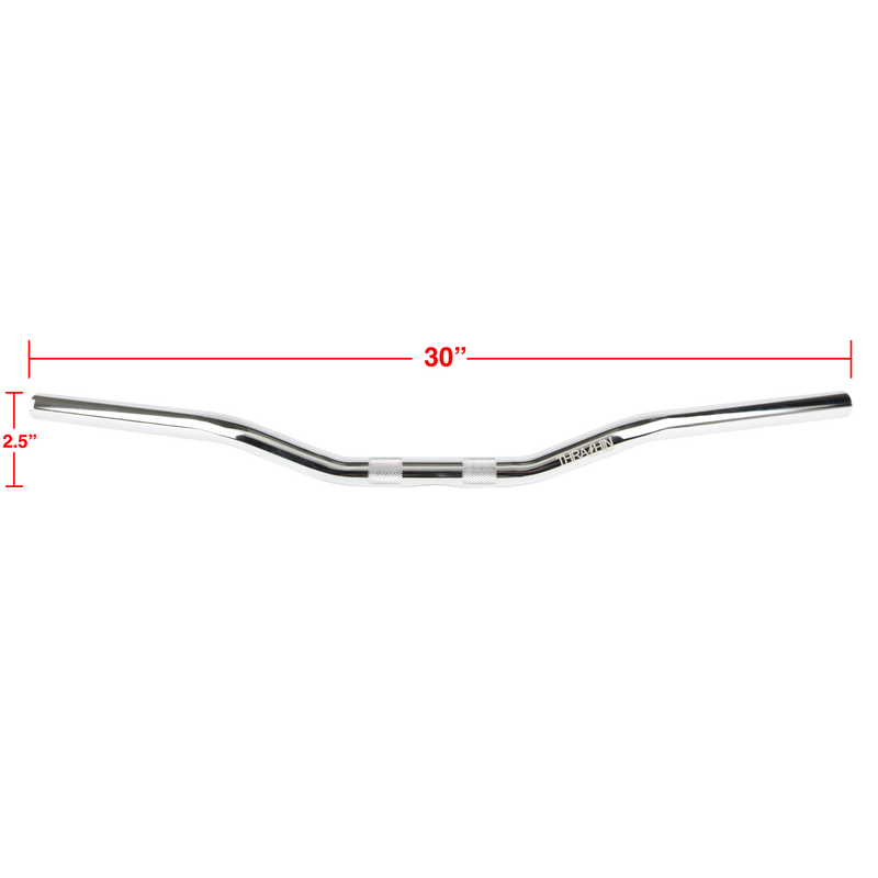 Thrashin Supply Low Bend Bars - Chrome