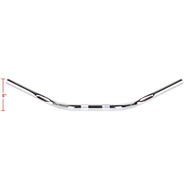 Thrashin Supply Mid Bend Bars - Chrome