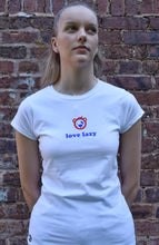 Load image into Gallery viewer, Women's love lazy T-shirt