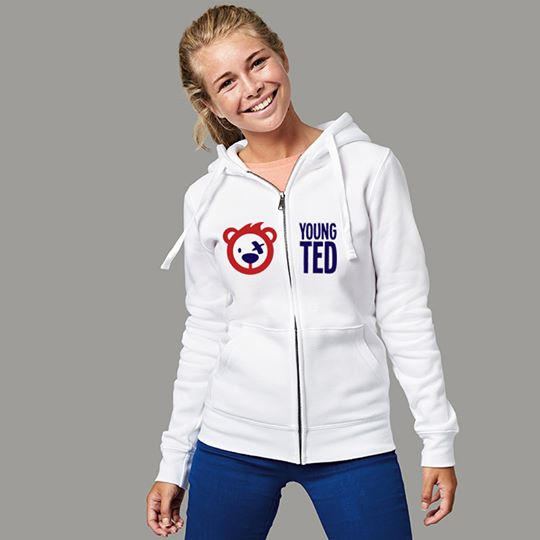 Women's Original Logo Zip Up Hoodie
