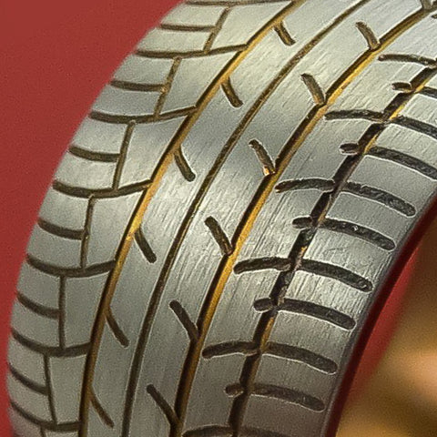 Tire Tread Rings and Bands