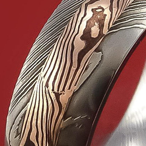 Mokume Gane Rings and Bands