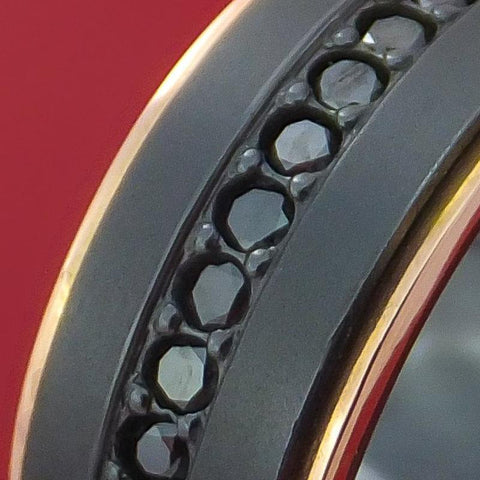 Black Zirconium Rings and Bands