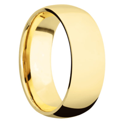 10k Yellow Gold Men's Wedding Band
