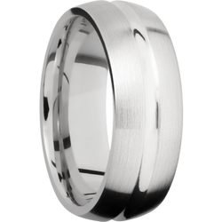 Domed Center Concave Shape Ring