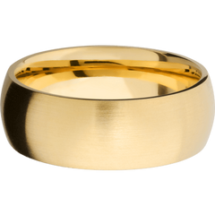 Yellow Gold Satin Finish