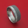 Titanium Celtic Ring with Gibeon Meteorite Custom Made Band