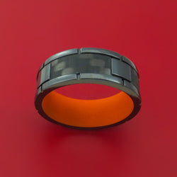 Cobalt Chrome Men's Wedding Band