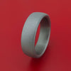 Tantalum Band with Sand Finish Custom Made Ring