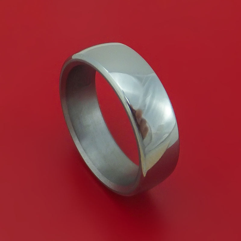 Tantalum Polished Band Custom Made Ring by Benchmark