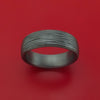Tantalum Band with Textured Finish Custom Made Ring by Benchmark