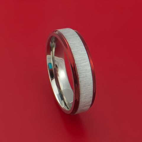 Titanium Anodized Ring Custom Made Band Choose Your Color