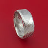 Kuro Damascus Steel Ring Custom Made Band