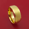 14k Yellow Gold Ring Custom Made Band
