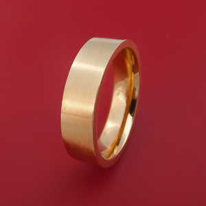 14k Rose Gold Ring Custom Made Band