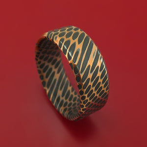 Superconductor Ring Reverse-Etch Custom Made Titanium-Niobium And Copper Band