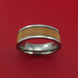 Titanium Guitar String Ring Custom Made Band