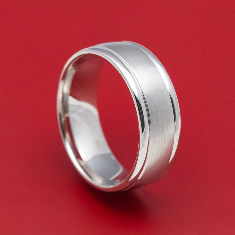 14K White Gold Classic Wedding Band