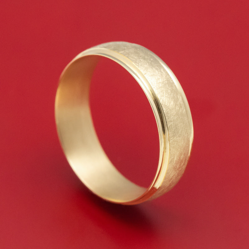 14K Yellow Gold Classic Wedding Band
