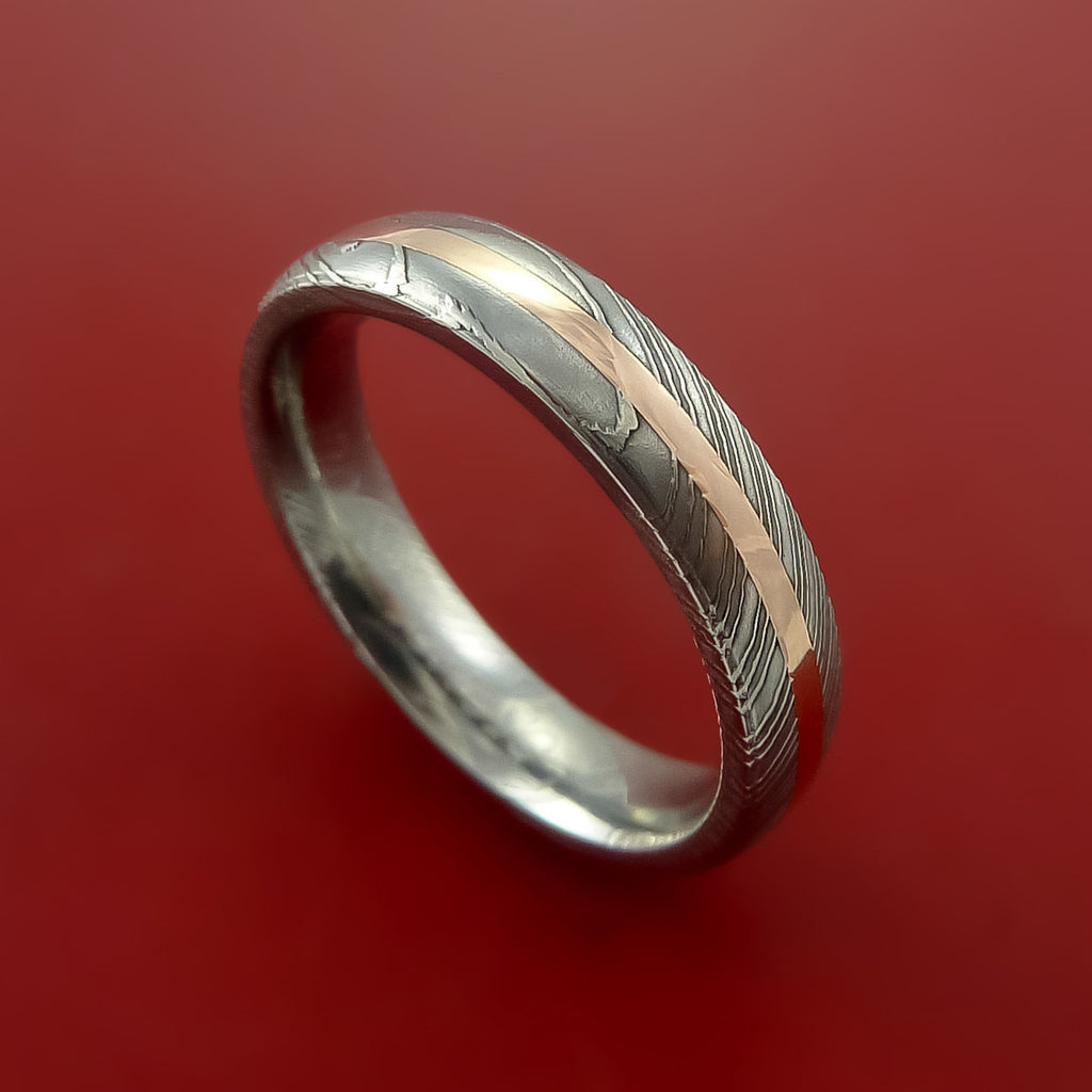 55bb0215567d Damascus Steel - Wedding Bands and Engagement Rings – Stonebrook Jewelry